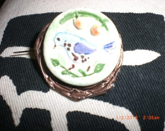 """Brooch """"3"""" ceramic Collection"""
