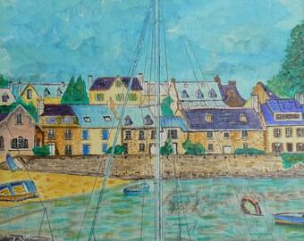Holy Navy Finistère the odet River estuary