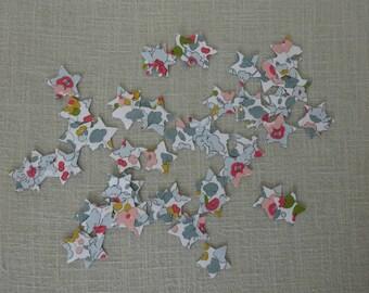 Confetti liberty betsy porcelain form stars (x 50)