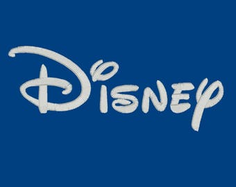 Disney Font, 3 Sizes, Machine Embroidery Font Alphabet DST, EXP, hus, jef, pes, vip, vp3, xxx, bx (1,2,3 Inches)