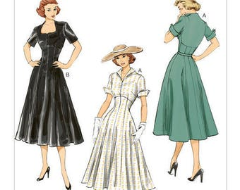 Vintage by B6018 retro Butterick sewing pattern
