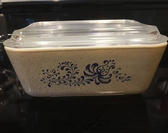 Pyrex Homestead 502 Refrigerator Dish