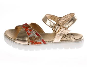 Sandal Color Gold