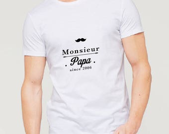 Mr. customizable Daddy t-shirt