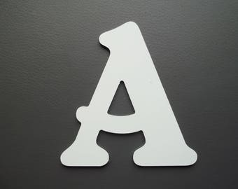 Metal aluminum BELSHAW letter. all letters available