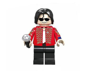 Michael Jackson Lego Inspired Mini Figure