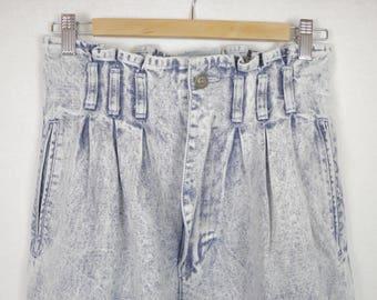 Vintage High Waist Light Blue Mom Jeans
