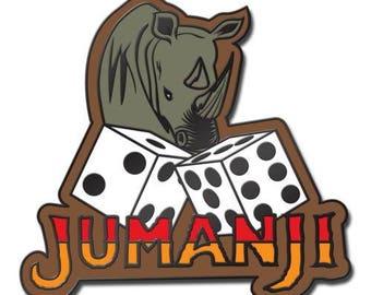 Jumanji Movie Hard Enamel Pin Le
