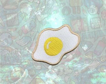 Fried Eggs Patch Cute Patch Iron on Patch Sew On Patches