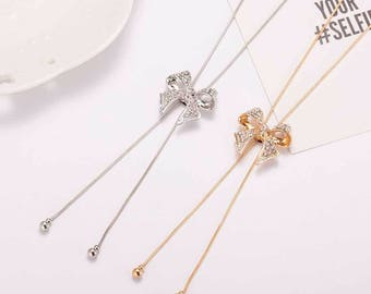 Bow Style Necklace