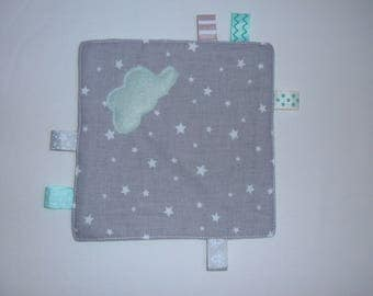 taggy square star fabric