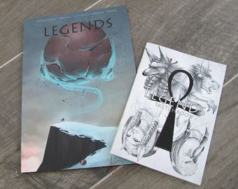 Artbook Legends - Pack 3 - 2dedicaces