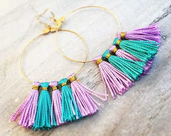 Creole Golden gold with large tassels