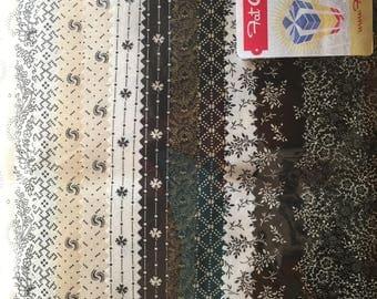 14 fat quarters fabrics