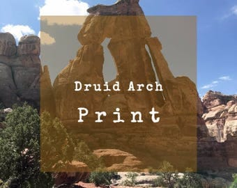 Limited Edition 8 X 10 Print, Druid Arch