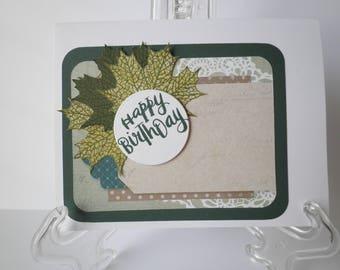 Masculine (Male) Birthday Card