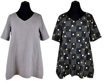 711 pattern shirt with swing