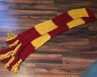 Wizard Inspired Knit Scarf