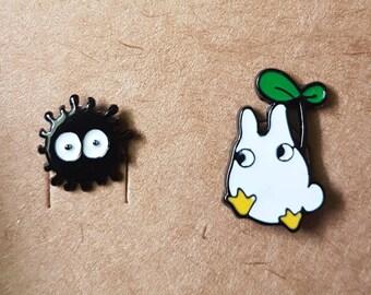 My Neighbor Totoro Soot Sprite Stud Earrings