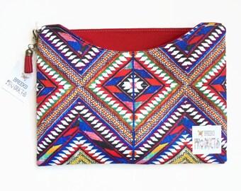 Made to measure iPad sleeve, Aztec, tribal, navajo, Samsung Galaxy note 10.1, ipad mini 4/3/2, bespoke, custom made.