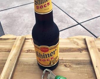 Pickle Rick bottle opener