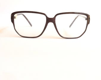 Deadstock vintage 1980's Krizia Model KV76 Glasses. Vintage Krizia frames, hand made in Italy.