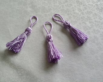 Deco individually, purple TASSEL