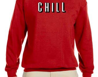 CHILL Men's Crew Neck Sweatshirt