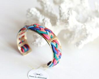 Thin cuff Cancun multicolor