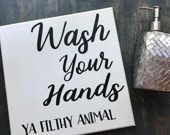 Bathroom Signs Nz bathroom rules wash your hands sign bathroom sign change the