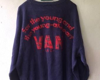 Vintage Van Jac sweatshirt
