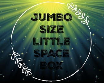 JUMBO Size Little Space Box
