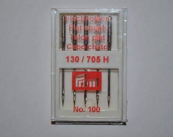 5 machine sewing needles universal size 100 prym 151565