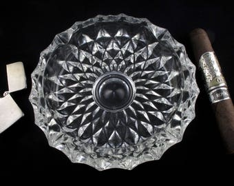 Glass Ashtray - Argonne Hall