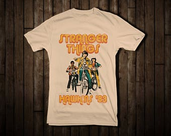 Stranger Things T Shirt (t-shirt // Cult Movie // Netflix // Duffer Brothers // Winona Ryder)