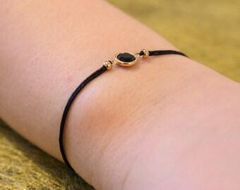 Bow bracelet slider spacer gold filled