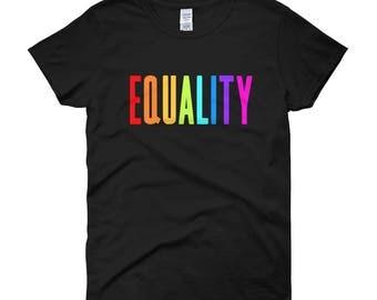 Equality Tee - Female Cut