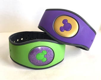 Magic Band 2.0 Puck Only Glitter or Solid Vinyl Decal