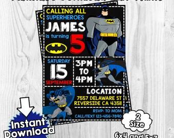 Batman invitation, Batman Birthday, Batman invites, Batman PDF, Batman download, invitation Batman , Batman PDF, Batman Editable