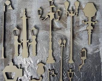 Lamppost 142 embellishment wooden creations
