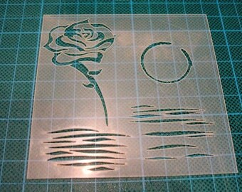 P0144 stencil for your pages, cards, your walls