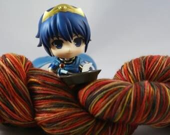 OOAK, fingering weight, Sock yarn, indie, hand dyed yarn, handdyed yarn, hand painted, superwash merino wool, variegated