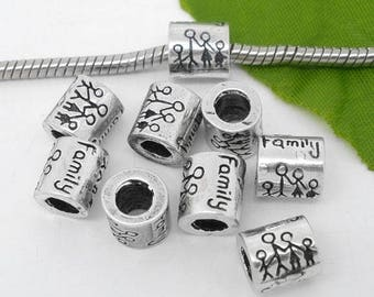 5 beads spacer Family