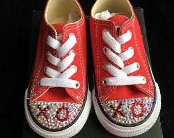 Valentines Toddler Converse
