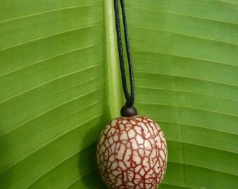 Necklace Patawa seed Patawa Palm
