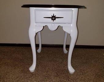 Refurbished Oak End Table