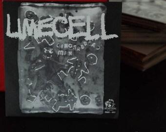 Limecell/Savage 3D - split 7 inch vinyl record- Ruff Nite Label-