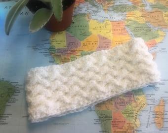 Lattice Knit Ear-warmer