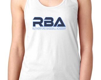 RBA Ladies Racerback Tank-Front Print Only