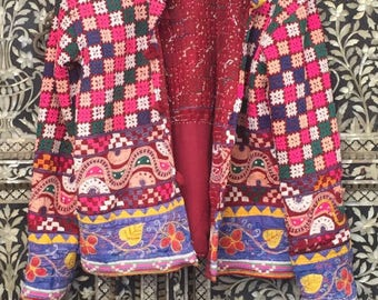 Vintage Bohemian Handmade Rajasthani Jacket